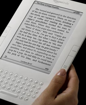 Kindle2 front view