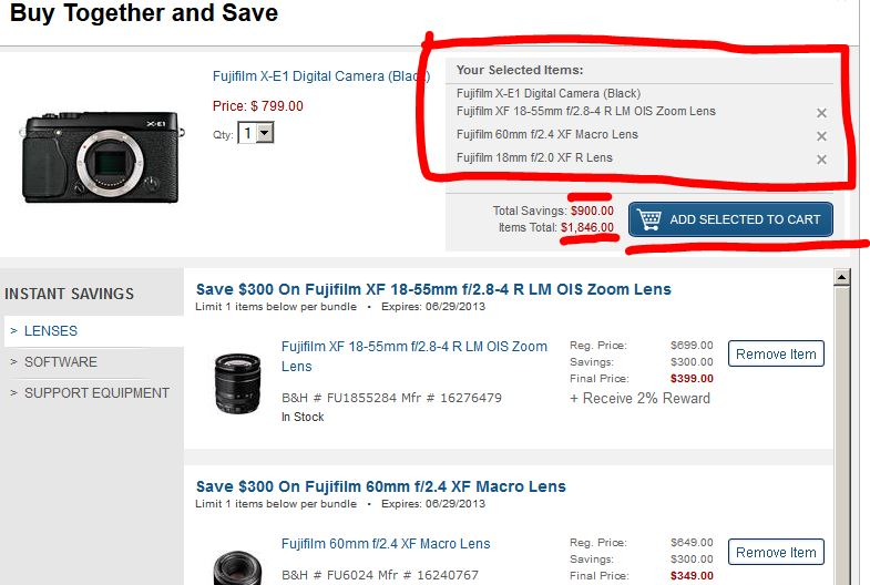Fuji-instant-rebates-add-to-cart-after-selecting