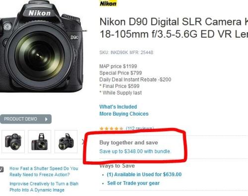 Nikon-d90-buy-together-and-save-at-adorama